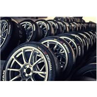 L'étiquette pneu et Yokohama