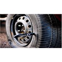 Vandalisme pneus crevés