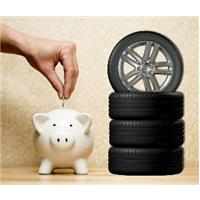 Un pneu bien noté, des euros cagnottés