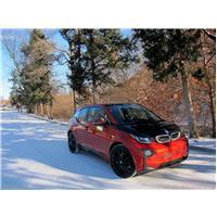 Pneu neige BMW électrique