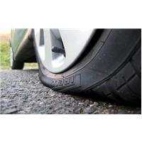 Crevaison pneu