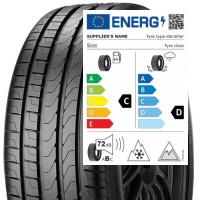 Une nouvelle étiquette pneu en cours de préparation