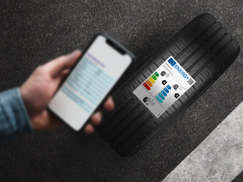 La nouvelle étiquette européenne des pneus
